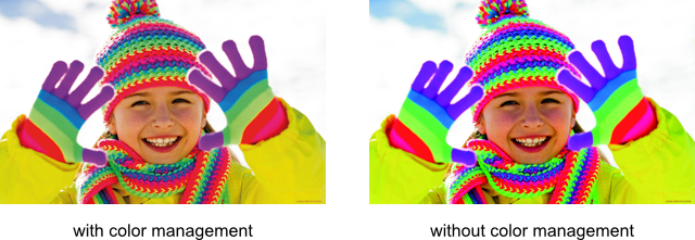 Converting Colors With Color Management Graphics Mill