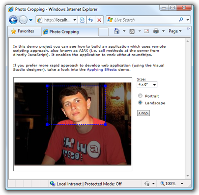 Cropping Photos Using Client-Side Scripting (Web Controls