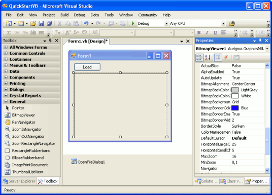 Quick Start in Windows Forms - Graphics Mill 5.5 for .NET
